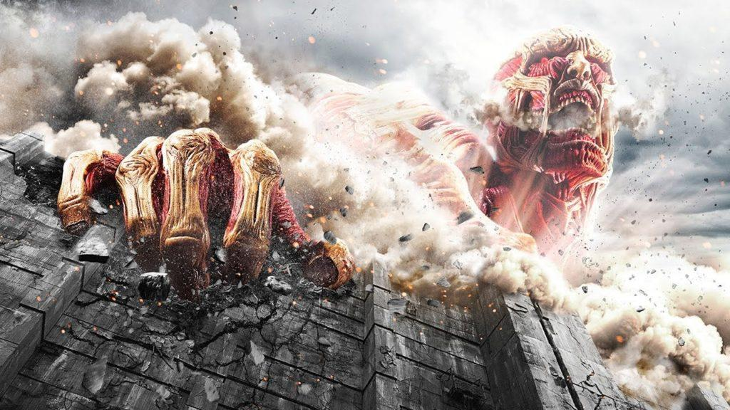 Кадр из фильма Атака Титанов 3