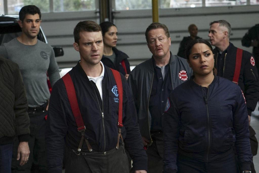 Кадры из сериала Пожарные чикаго 9 сезон