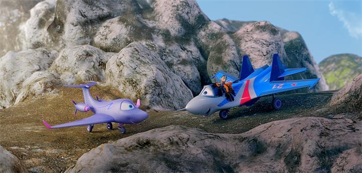 Кадры из мультфильма От винта 3