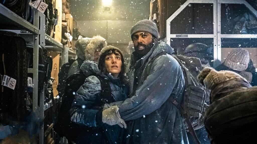 Кадры из сериала Сквозь снег 2 сезон