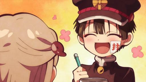 Кадры из аниме Туалетный мальчик Ханако 2 сезон