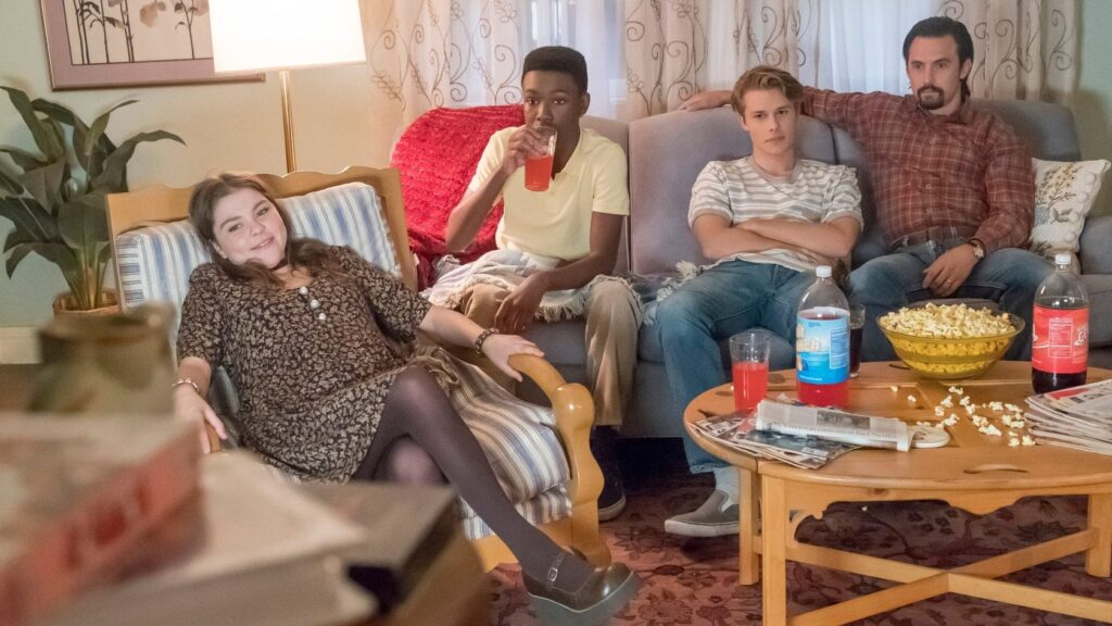 Кадры из сериала Это мы 6 сезон