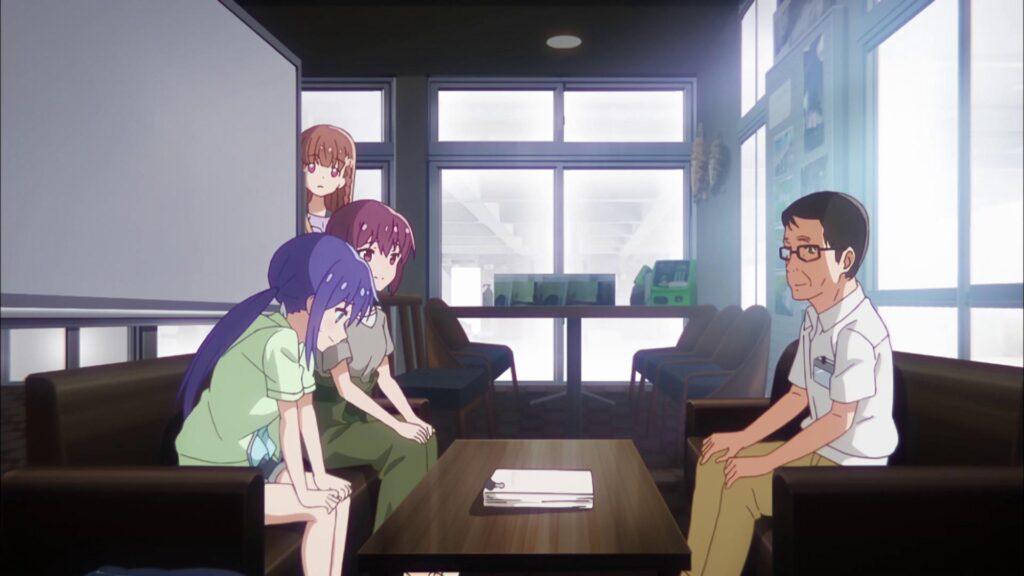 Кадры из аниме Влюбленный астероид 2 сезон