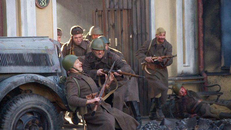 """Кадр из сериала """"Последний день войны"""""""