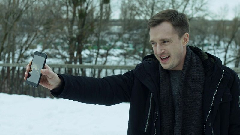 """Кадр из сериала """"Звонарь"""""""